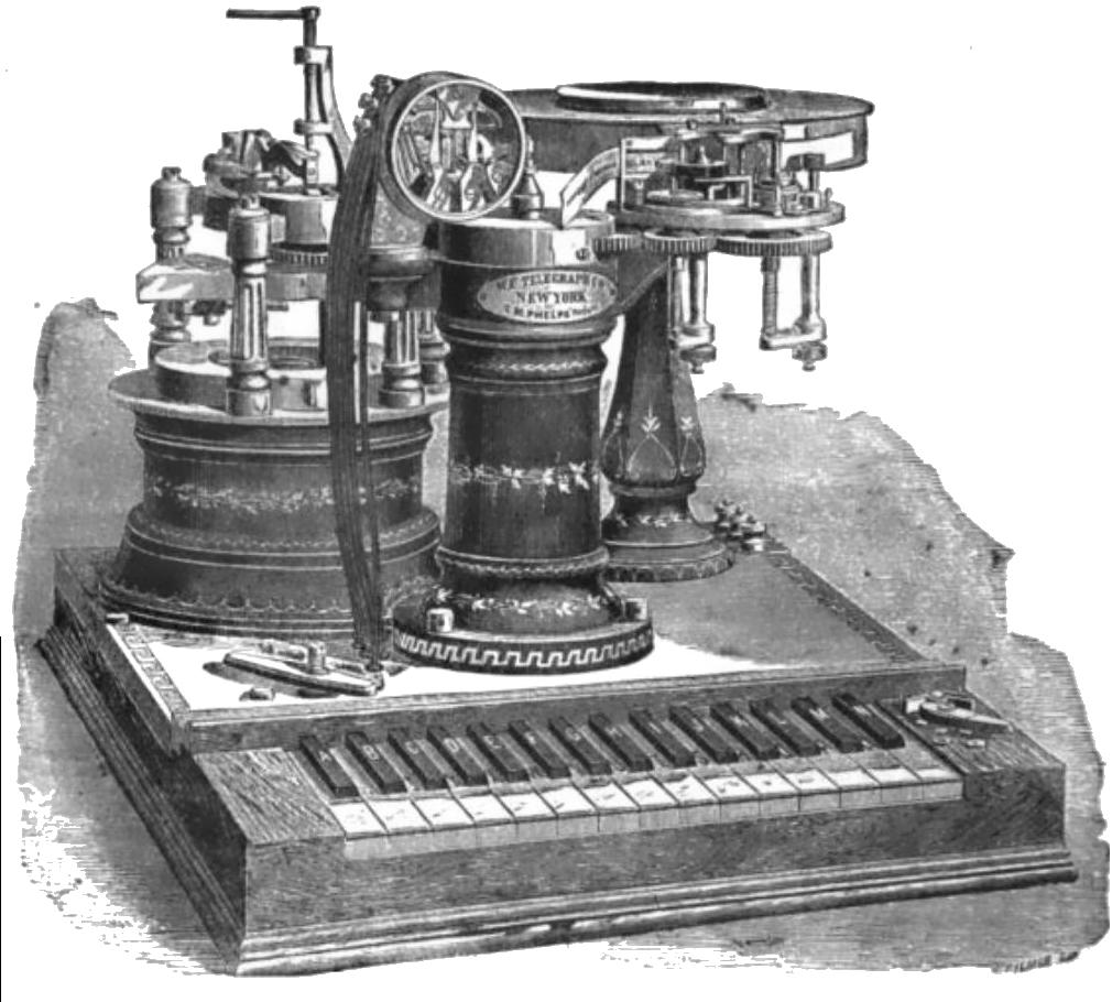 Phelps_Electro-motor_Printing_Telegraph