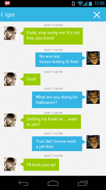 android free messaging