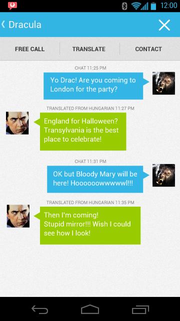 android translation