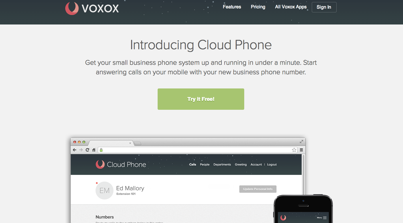 Cloud Phone by Voxox