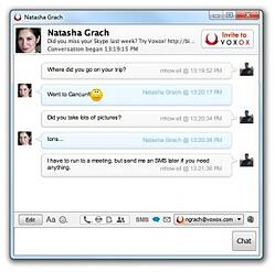 Voxox Unified Messaging Window