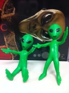 Bendable Alien