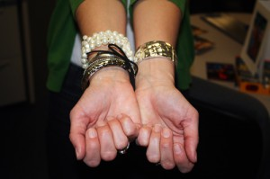 Glad those are bangle bracelets and not bangle tigers!