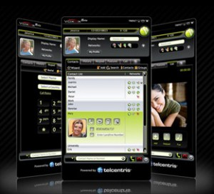 The Voxox User Interface Upon Launch