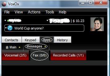 Voxox Fax
