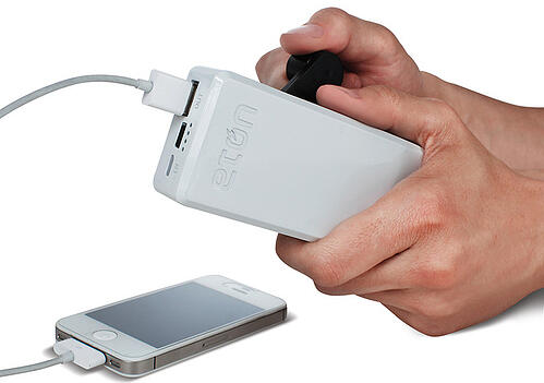 Hand Crank iPhone Charger