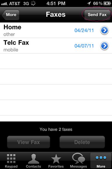 Voxox faxing 2