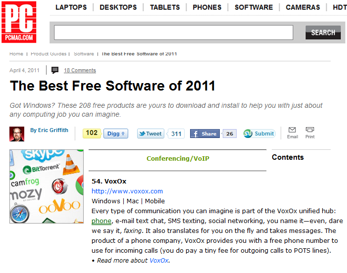 PC Magazine Best Free Software