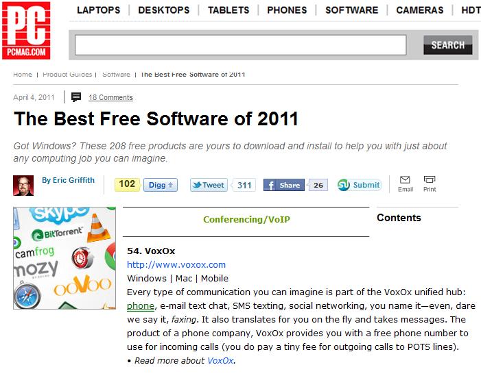 PC Magazine Best Free Software