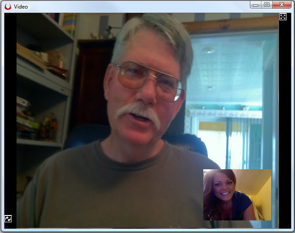 Father's Day VoxOx Video Chat