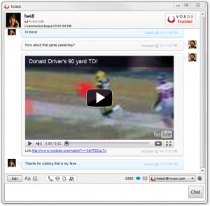 Unified Messaging Window