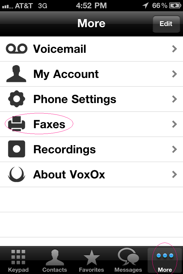 Voxox faxing 1