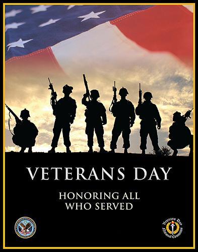 Happy Veterans Day 11.11.11