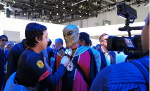 VoxOx Alien at CES