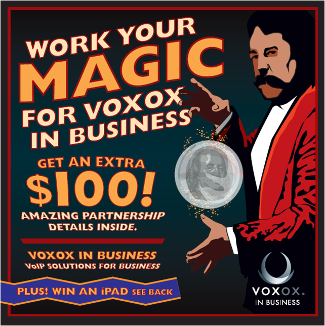 Work Your Magic for Voxox In Business
