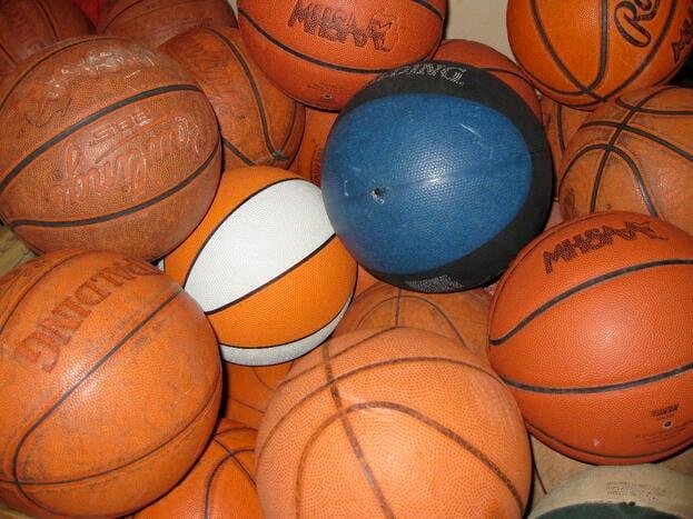 March Madness Basketballs