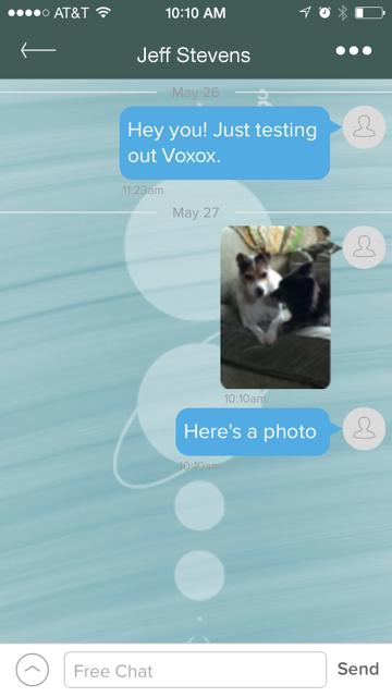 Voxox App Test 2