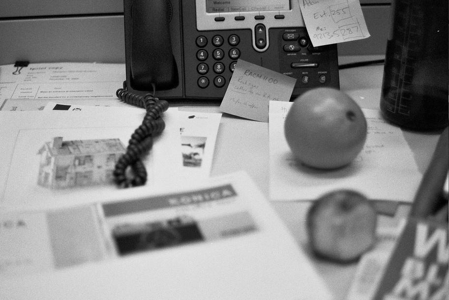 Hosted PBX on desk